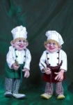Chef Cook Marionette handmade in Prague